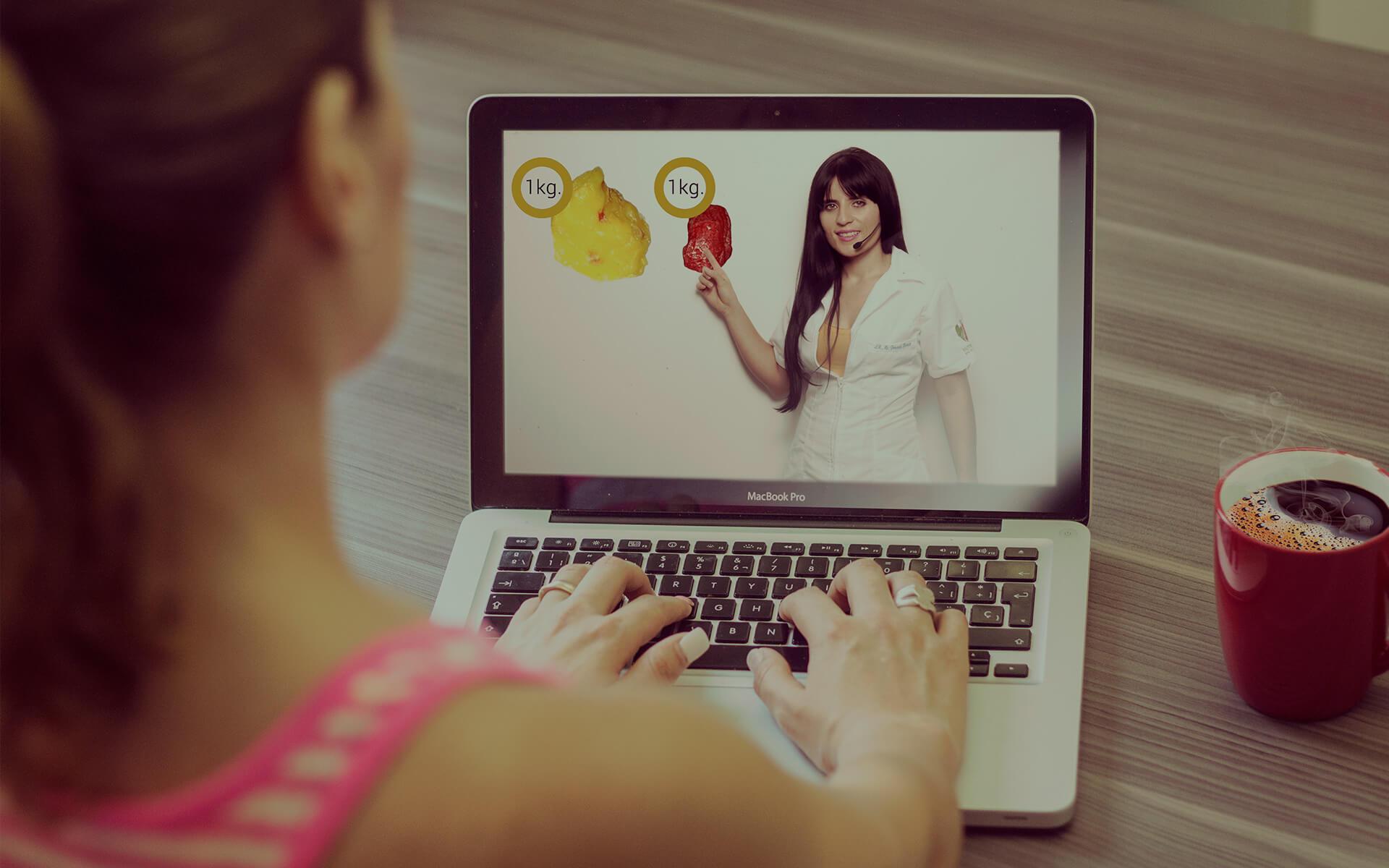 Consulta en línea de nutriologa