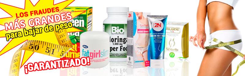 Productos milagro ejemplos para bajar de peso