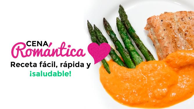 Cena rom ntica receta f cil r pida y saludable for Como hacer una cena rapida
