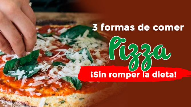 Como comer pizza sin engordar