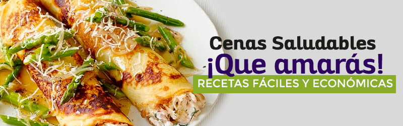 Cenas saludables que amar s recetas f ciles y econ micas for Cenas faciles y economicas