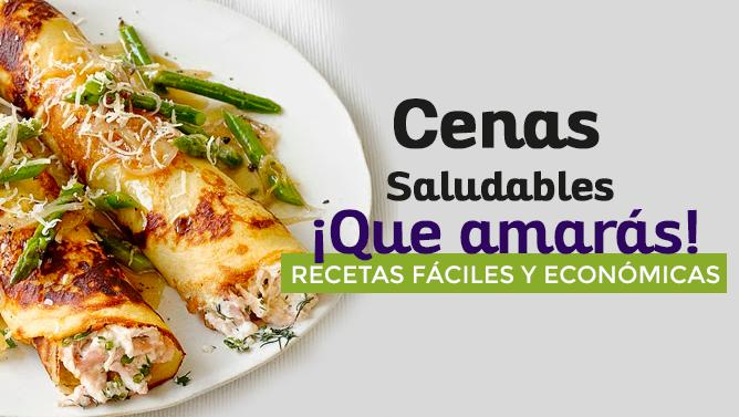 Cenas saludables que amar s recetas f ciles y econ micas - Comidas deliciosas y saludables ...