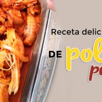 Receta deliciosa de Pollo al pibil