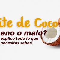 Aceite de Coco: ¿Bueno o malo? 🤔 !Te explico todo lo que necesitas saber!