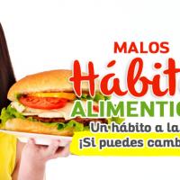 Malos hábitos alimenticios: Un hábito a la vez, ¡Si puedes cambiarlo!